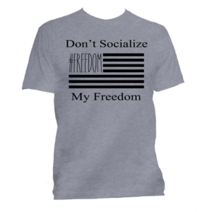 The Patriotic T Shirt for like minded people.
