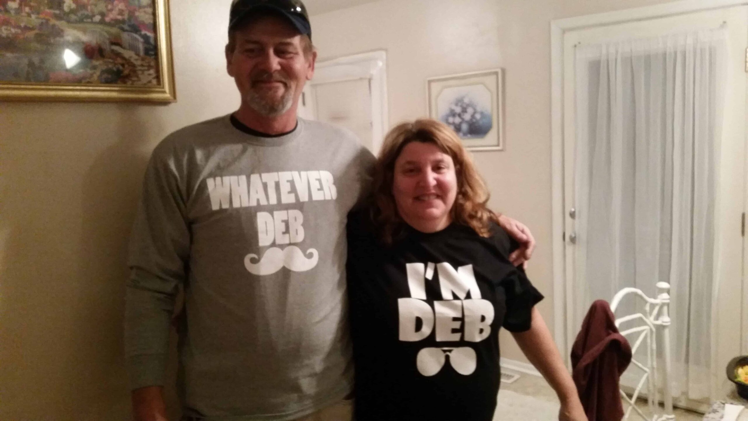 Dan and Deb Shirts