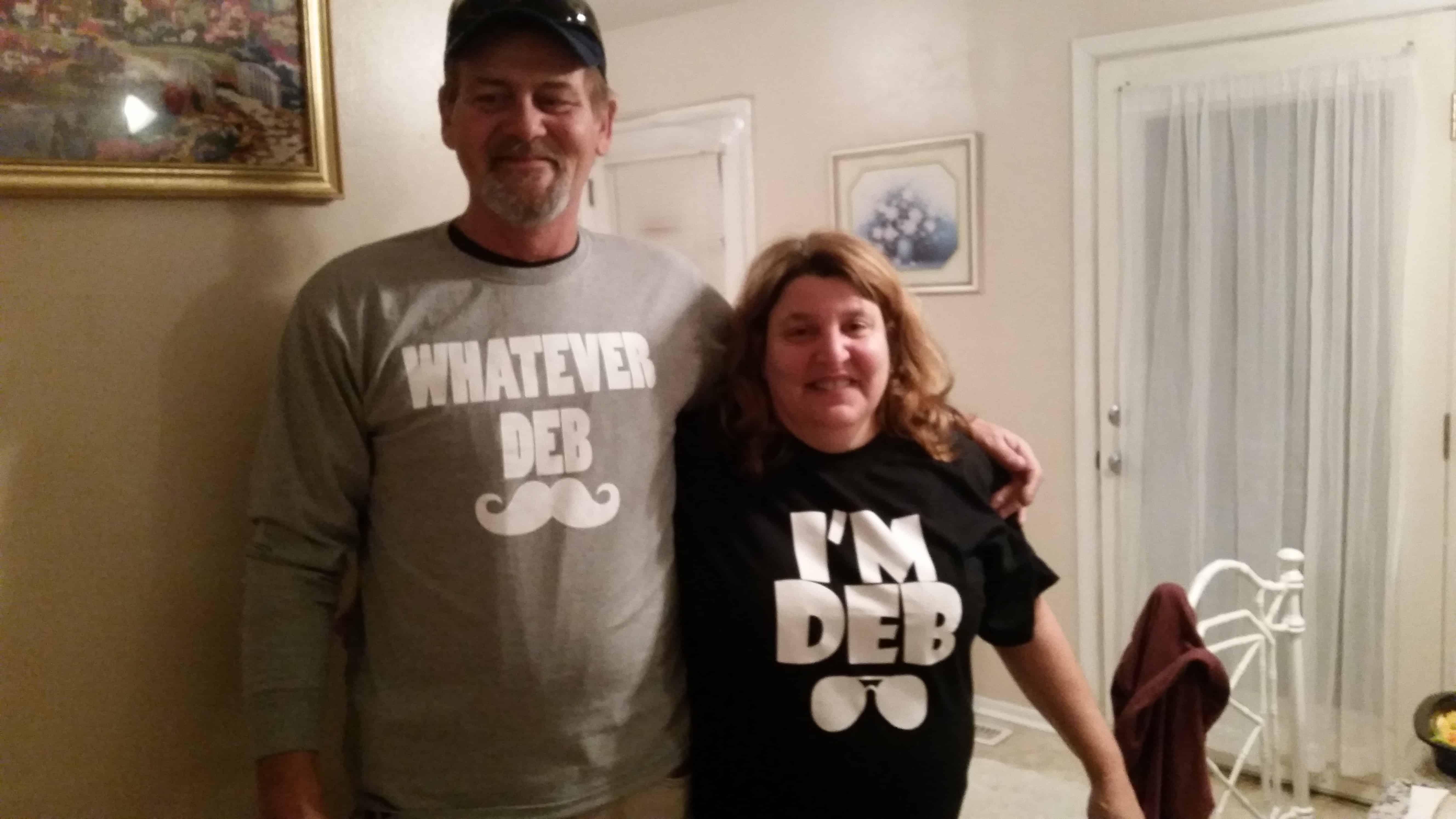 Dan and Deb Shirts