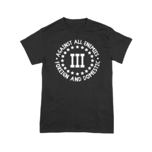 3 percent t shirt